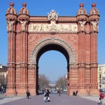Arc-de-Triomf-Barcelona-multiturismo