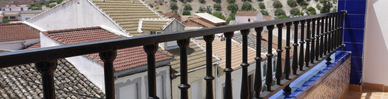 066 Roof patio view (third floor) Nueva Carteya