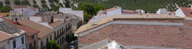 068 Roof patio view (third floor) Nueva Carteya